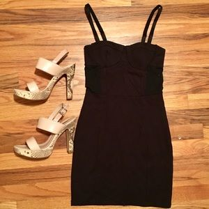 H&M Bodycon with sheer sides